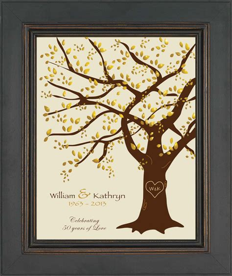 50th wedding anniversary gift ideas 50th wedding anniversary gift print parents anniversary gift