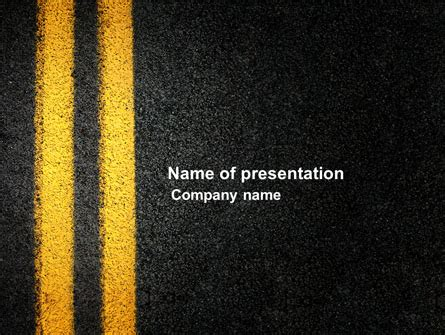 road powerpoint templates and backgrounds for your