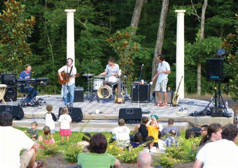 Botanical Garden Concerts by Botanical Garden Hosts Sunflower Concert Series Uga Today