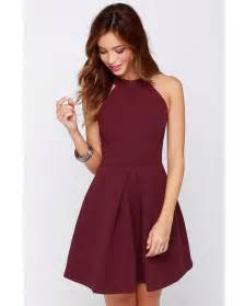 aliexpress com buy new arrival halter fashion burgundy
