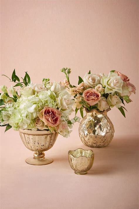 25 best ideas about gold vase centerpieces on