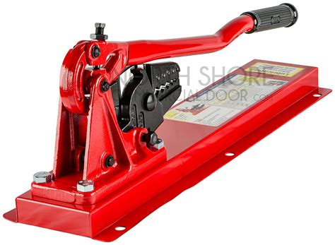 bench swaging tool garage door tools bench swager