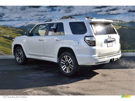 Toyota 4runner White 2016 Blizzard White Pearl Toyota 4runner Limited 4x4