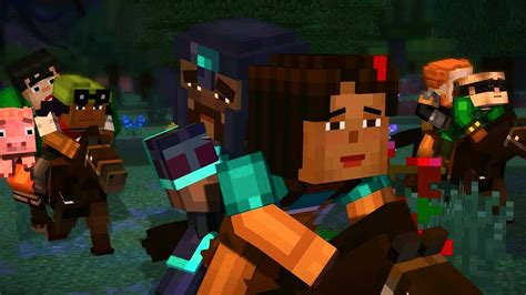 A Place Trailer Plot Minecraft Story Mode Episode 4 A Block And A Place Teaser Trailer