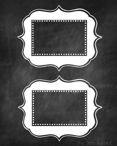 chalkboard place cards template new years chalkboard free printables the 36th avenue