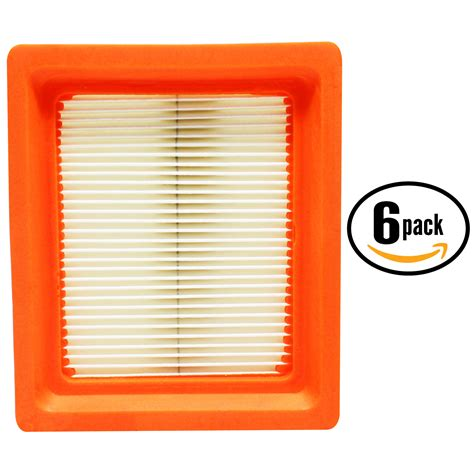 6x lawnmower air filter for kohler xt675 engine xt650 3021