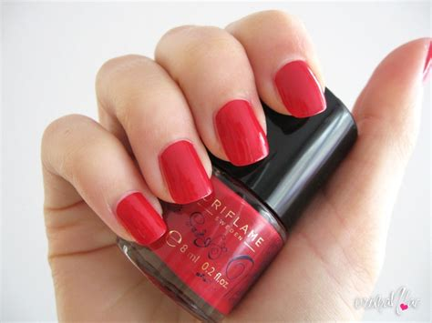 Manicure Oriflame oriflame colour floral nail cherry oriflame products