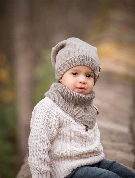 toddler knit hat knitted slouchy hat warm beanie toddler boy hat