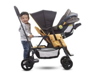 joovy caboose rear seat uk sit and stand strollers the pros and cons of each