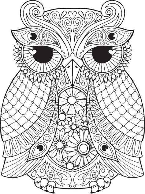 owl mandala coloring pages for adults 1000 images about more coloring on