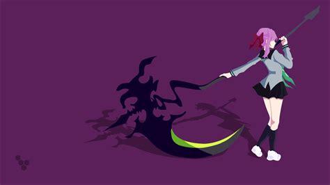 hiiragi shinoa scythe vectors vector art simple