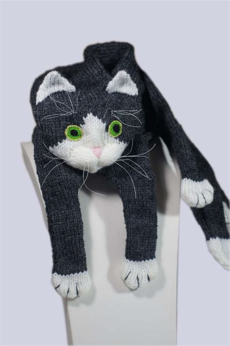knitting pattern cat knitting pattern for cat scarf ad this is one of the