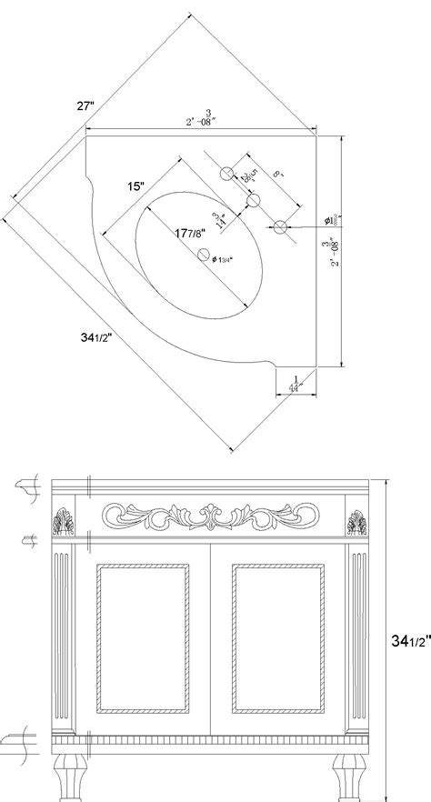 corner sink dimensions befon for