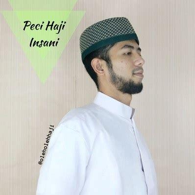 Peci Murah Berkualitas Kopiah Sufi Rajut Oleh Oleh Haji Umroh Grosir peci haji insani oleh oleh haji