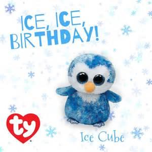 happy birthday ice cube feb 11 beanie boos ice cubes birthdays ice
