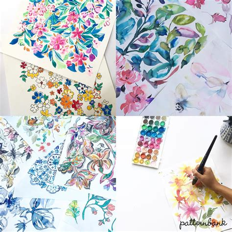 patternbank textile design luiza cazal print studio featured designer patternbank
