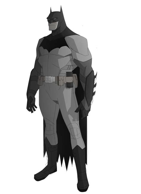 Tas Christian Set 2 In 1 Black Series Jj 8885 1 batman character design for cancelled quot as hell quot animated series geektyrant