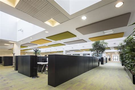 pannelli fonoassorbenti soffitto siemens chooses caruso acoustic s silente caruso acoustic