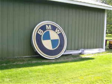 bmw dealership sign large bmw dealership sign for sale on craigslist mye28 com