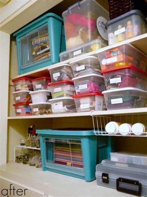 How to organize a craft closet   C.R.A.F.T.