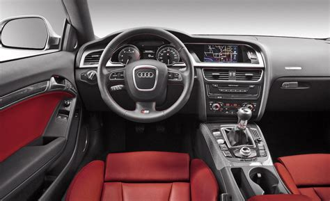 Audi S5 Interior by Car And Driver