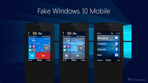 themes for windows 10 mobile windows 10 mobile theme s40 240x320 s406th s405th