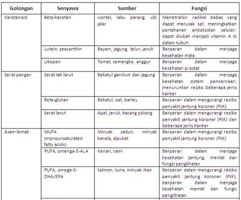 contoh dari layout fungsional makanan fungsional
