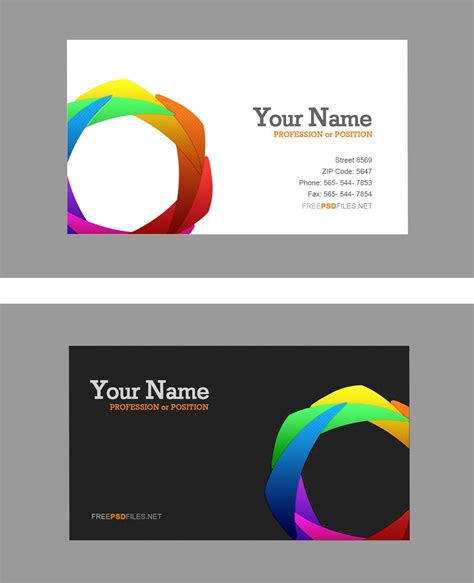 busniess card template business card template psd lisamaurodesign