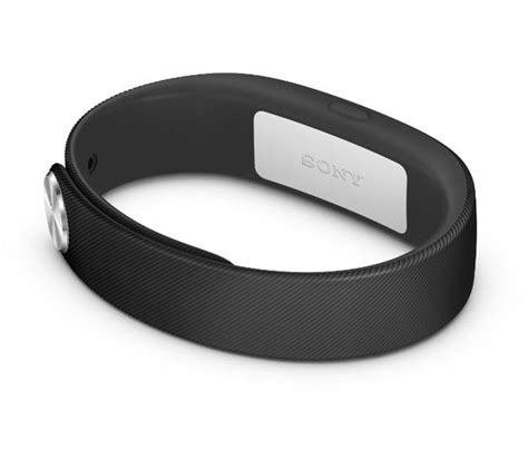 Sony Smartband Swr10 Black buy sony swr10 smartband black free delivery currys