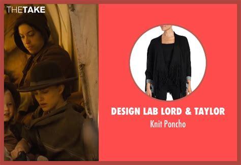 design lab poncho natalie portman design lab lord taylor knit poncho from