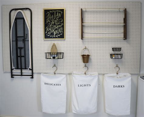 Diy Rooms remodelaholic how to hang pegboard for perfect laundry