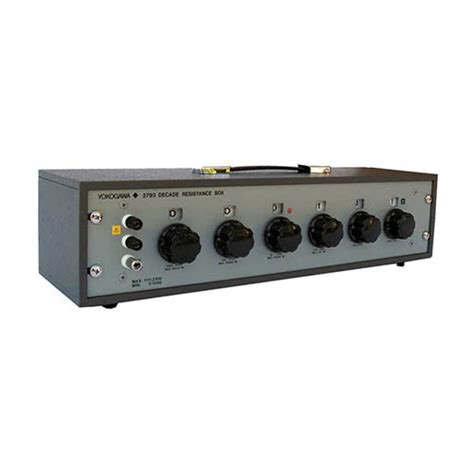 decade resistor yokogawa 279303 decade resistance box 100 m ohm ebay