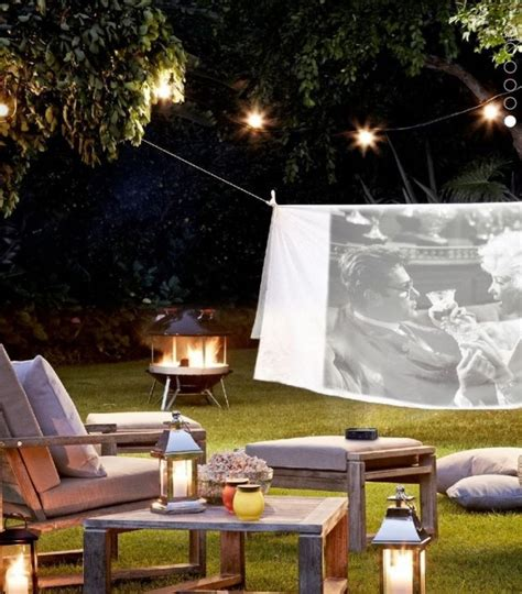 Cinema Le Patio by 25 Amazing Outdoor Home Cinemas