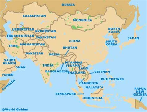 map of asia continent airports guides airports in asia