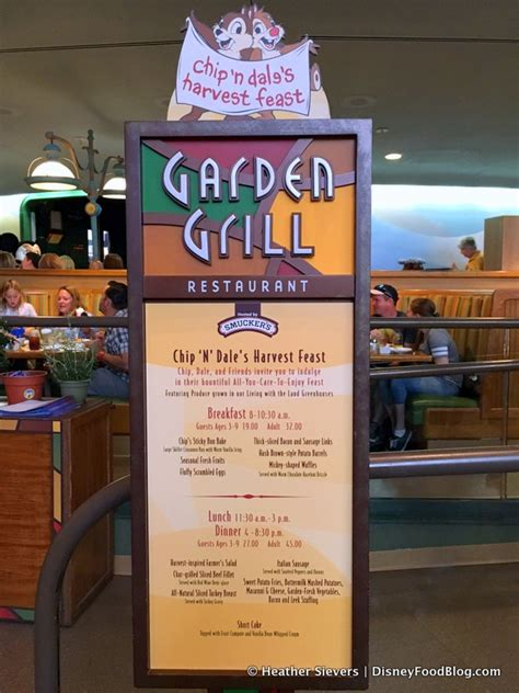 Garden Grill by Review Chip N Dale S Harvest Feast Breakfast At Garden
