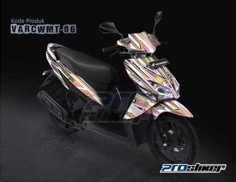 Striping Decal Variasi Shogun 110 pin fi cw mio j soul gt on
