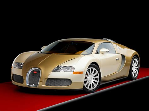 bugatti gold and white bugatti veyron white and gold