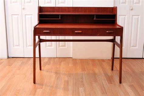 teak writing desk
