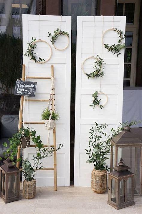 Top Wooden Ladder Wedding Decor Ideas to DIYs: Fast, Chic