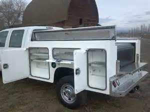 ford crew cab aluminum service truck bed