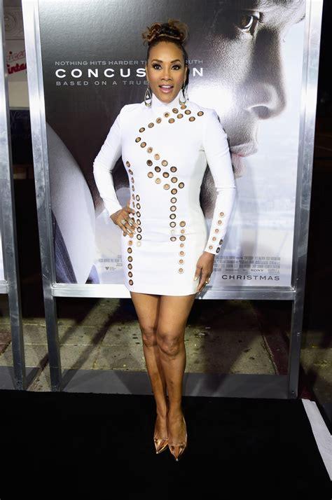 Worst Dress Of The Year Vivica Fox In Naeem Khan by Vivica A Fox Mini Dress Mini Dress Lookbook Stylebistro