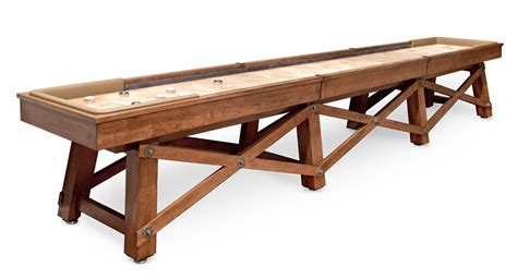 a shuffleboard table shuffleboard table