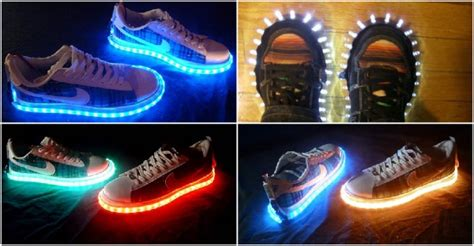 diy led shoes cool diy led projects images