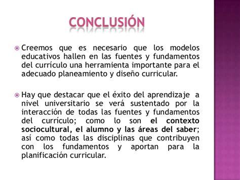 Modelo Curricular Basado En Disciplinas Y Fundamentos Curriculo