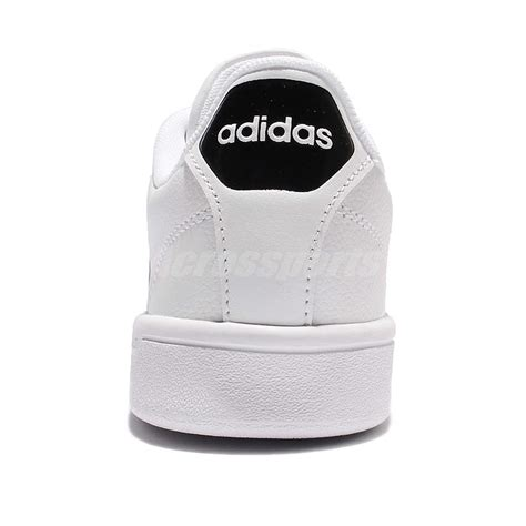 adidas cloudfoam advantage w white black leather tennis shoes aw4287