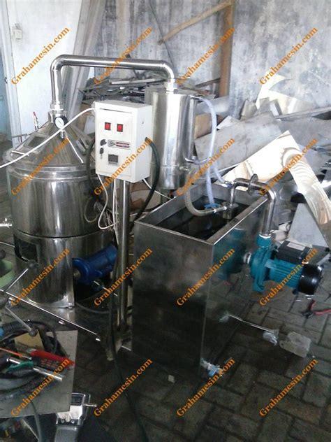 Kran Vakum tempat pemesanan dan pembuatan mesin evaporator vakum serbaguna