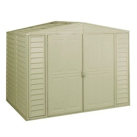 Suncast Sutton Shed by Suncast Sutton 7 Ft 4 5 In X 3 Ft 11 75 In Resin