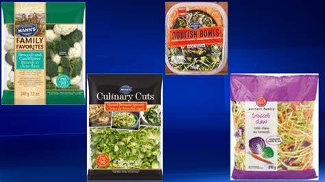 vegetables recall vegetable recall 2017