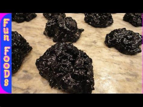 Coal Rice Krispy Cookies coal trimmer
