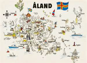 aland islands map aland islands map with administrative borders images frompo